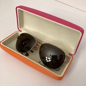 Kate Spade Polarized Aviator Sunglasses